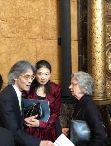 Kent Nagano, Mari Kodama, Ulla Hahn